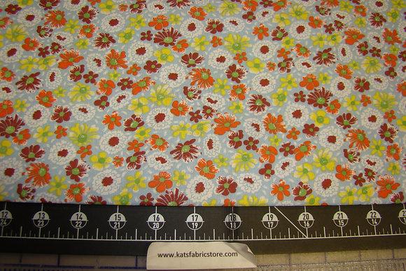 Quilter Calicos 324 Orange Brown