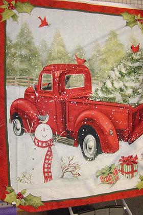 Springs Creative Home for Christmas Truck Panel