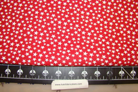 108in Patriotic Many Stars Red