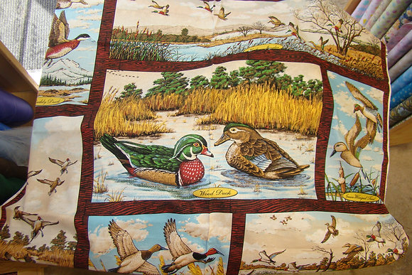 Fly Away Home Duck Panel