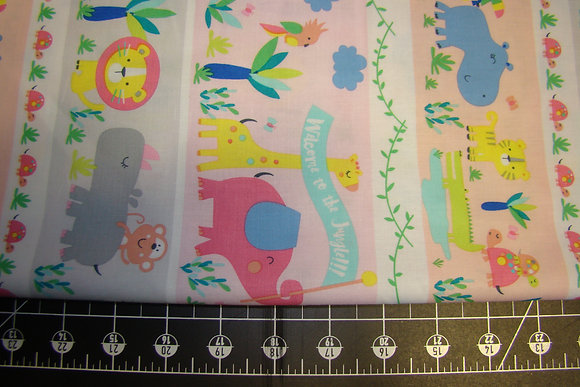 TT Jungle Parade Border Pastel