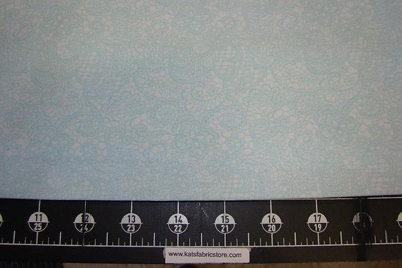 BX Festive Lace Ice Blue