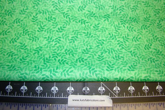 QT Harmony Cotton Leaf Spring Green