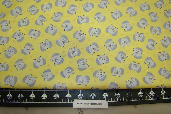 BX Jungle Jamboree Elephants Yellow
