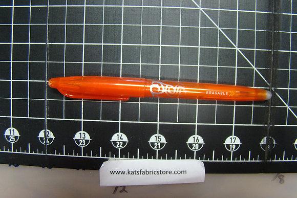 Frixion Orange Pen