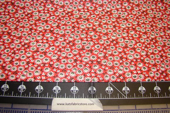 Quilter Calicos 298 Red