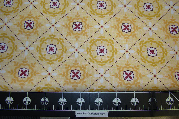 BX Mosaic in Shallows Yellow