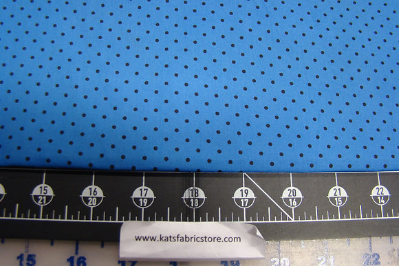 BX Pin Dot Light Blue/Black