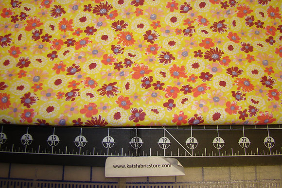 Quilter Calicos 323 Yellow