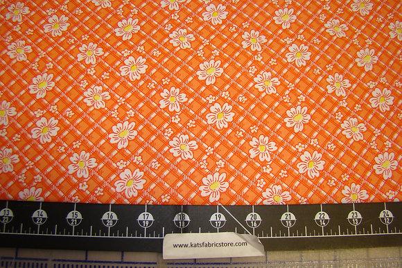 Quilter Calicos 306 Orange