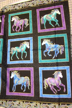 BX Horsen Around Panel Black
