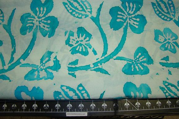 Quilter's Batik 383 Tropical Turquoise