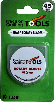 Precision Quilting Tools Rotary Blades 10 pk.