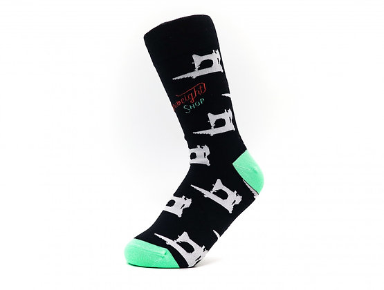 The Featherweight Shop Socks Black