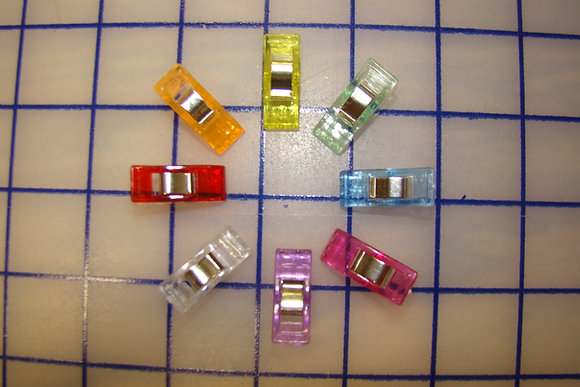 Sewing Clips Assorted Colors