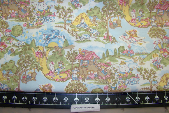 Nursery Thyme Flannel