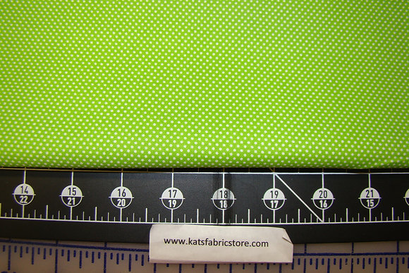 PS Pin Dot Lime Green