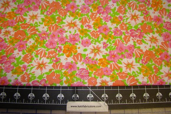 Quilter Calicos 344 Pink Orange