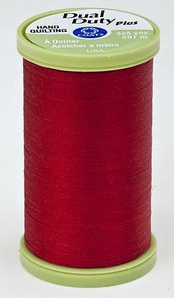 Dual Duty Plus Hand Quilting Red 2250