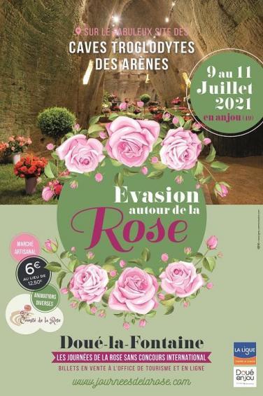 Laissez vous séduire par l'évènement festif sur la fleur emblématique de Doué La Fontaine : la Rose.