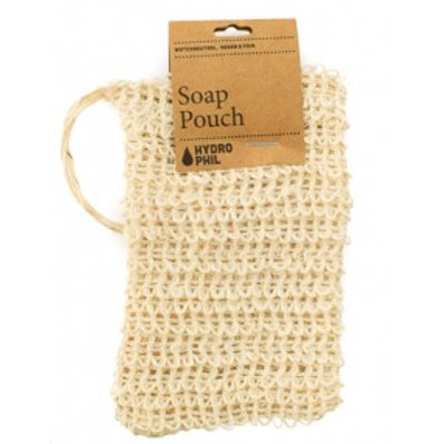 Hydrophil Exfoliating Soap Pouch made from Biodegradable Sisal