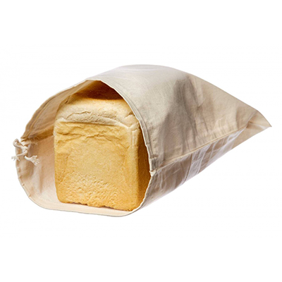 Organic Bread and Produce Bag with bread inside - Eco Living
