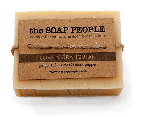Lovely Orangutan Soap Bar The Soap People
