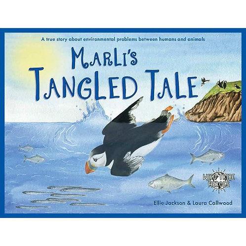 Marli's Tangled Tale Book - Ellie Jackson Childrens book