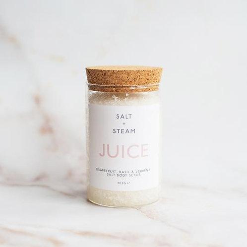 Juice Citrus Body Scrub - Salt & Steam