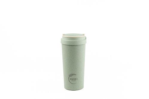 Huski home blue reusable rice husk coffee cup 500ml