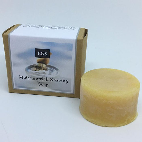 Moisture Rich Shaving Soap Bar 90g Bain & Savon