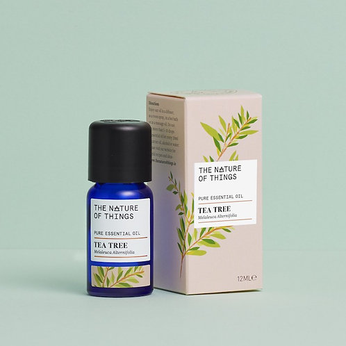 Tea Tree Essential Oil 12ml The Nature of Things green background