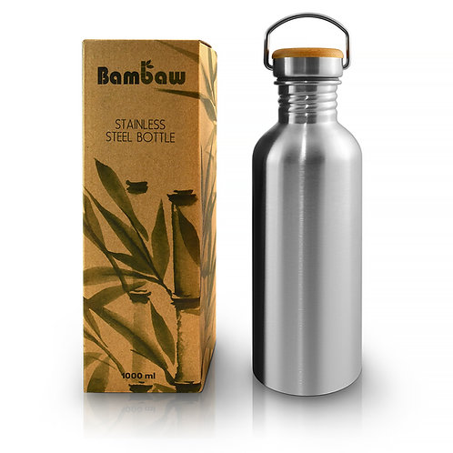 Bambaw 1 litre stainless steel drinks bottle
