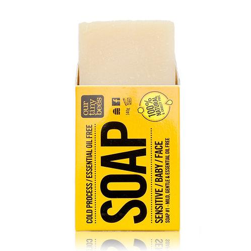 Our Tiny Bees Natural Soap Bar - Sensitive