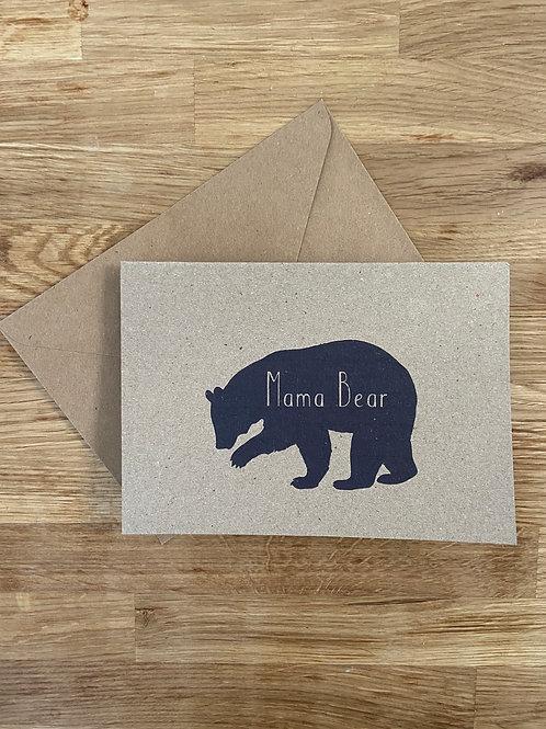 Bella Casa Mama Bear Mothers Day Card