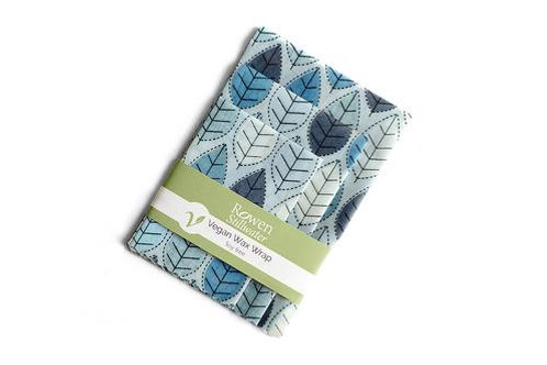 Rowen Stillwater Winter Leaf 3 pk Vegan Wax Wraps