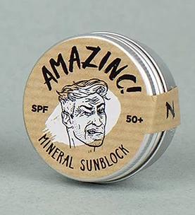 Amazinc Mineral Sunblock Shark tooth White SPF 50+