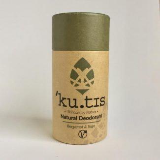 Kutis Natural Vegan Deodorant Bergamot & Sage