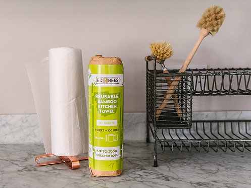 EcoBees Reusable Kitchen Roll in packet