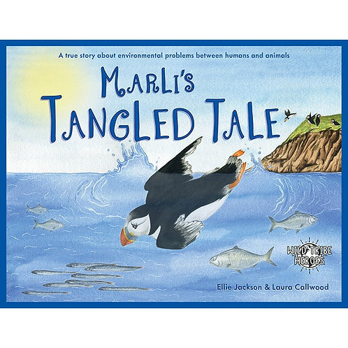 Wild Tribe Heroes Marli's Tangled Tale Children's Story Book - Ellie Jackson front cover