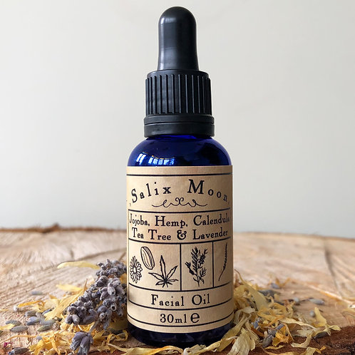 Salix moon apothecary botanical facial oil anti blemish