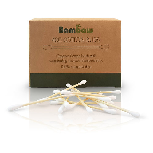 Bambaw cotton buds 400 with box