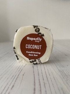 Coconut Solid Conditioner Bar - Superfly Soap