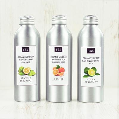 Bain and Savon Vinegar Hair Transition Rinses Set of 3