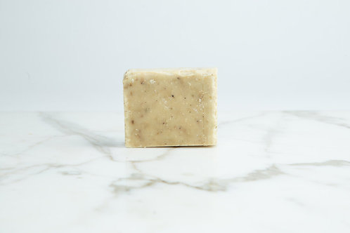 Wild Sage & Co Rosemary and Teatree handmade soap without packaging