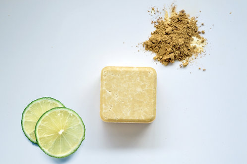 Zero Waste Path 2 in 1 Solid Shampoo Bar Dry and Curly Hair