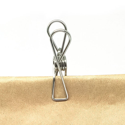 save some green stainless steel pegs pk 20 tied on bag