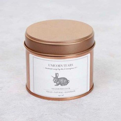 Vegan Bunny Unicorn Tears Soy Wax Candle