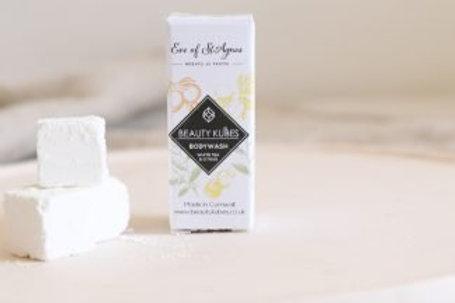 Beauty Kubes Plastic Free Body Wash White Tea & Citrus - Sample Pk