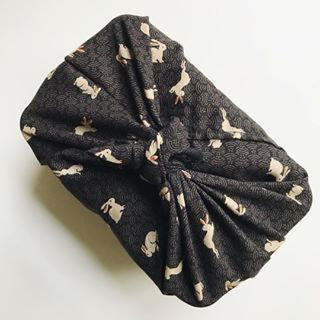 Agnes LDN Bento Bag 30 cm Black Bunny